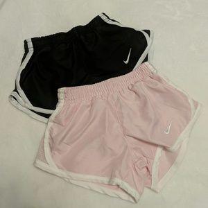2 Nike Dri-Fit shorts 🌼 Size 2T